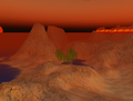 SL - ciel rougeoyant et désert virtuels.png