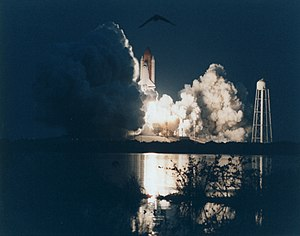 STS-77 - Endeavour launches from LC-39B, beginning STS-77