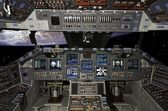 Space Shuttle orbiter - Space Shuttle glass cockpit