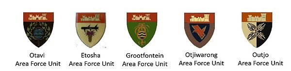 SWATF sector 30 Area Force Units