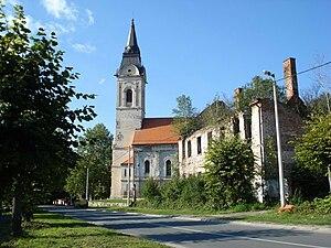 Eparchy of Slavonia - Image: Saborna crkva Svete Trojice Pakrac