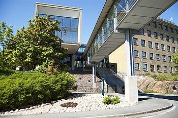 English: Entrance to the Sahlgrenska Academy, ...