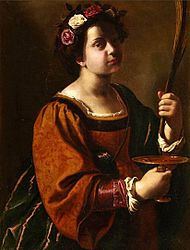 Artemisia Gentileschi: Saint Lucy