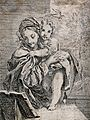 Saint Mary (the Blessed Virgin) with the Christ Child. Etchi Wellcome V0033734.jpg
