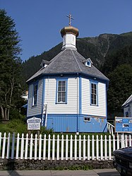 Saint Nicholas Russian Orthodox Church, Downtown Juneau, Alaska 2.jpg