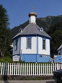 Saint Nicholas Russian Orthodox Church, Downtown Juneau, Alaska 2.jpg