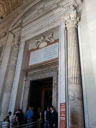 Extraordinary Jubilee of Mercy - The Holy Door of St. Peter's Basilica, opened in 2016