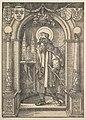 Saint Sebald in a Niche MET DP822268.jpg