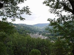 Saint-Chély-d'Aubrac - Image: Saint chely d'aubrac vallee
