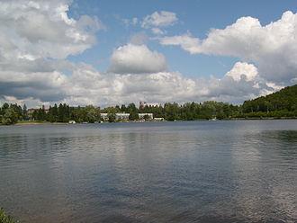 Sainte-Agathe-des-Monts - A view from Lac des Sables