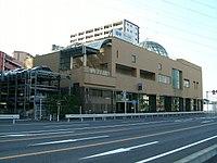 Saitama-Railway-Hatogaya-station in Hatogaya civic center Saitama Japan.jpg