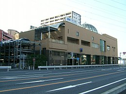Saitama-Railway-Hatogaya-station in Hatogaya civic center Saitama Japan.jpg