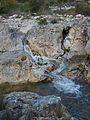 Salt d'aigua temporal del riu Gorgos al seu pas per Xaló.JPG
