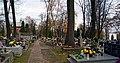 Salwator Cemetery, main view from W, Waszyngtona Av, Krakow, Poland.jpg