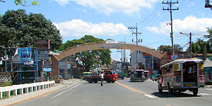 San Mateo, Rizal - Welcome facade of San Mateo at Nangka Bridge