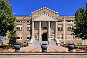 San Jacinto County, Texas - Image: San jacinto tx county courthouse 2014