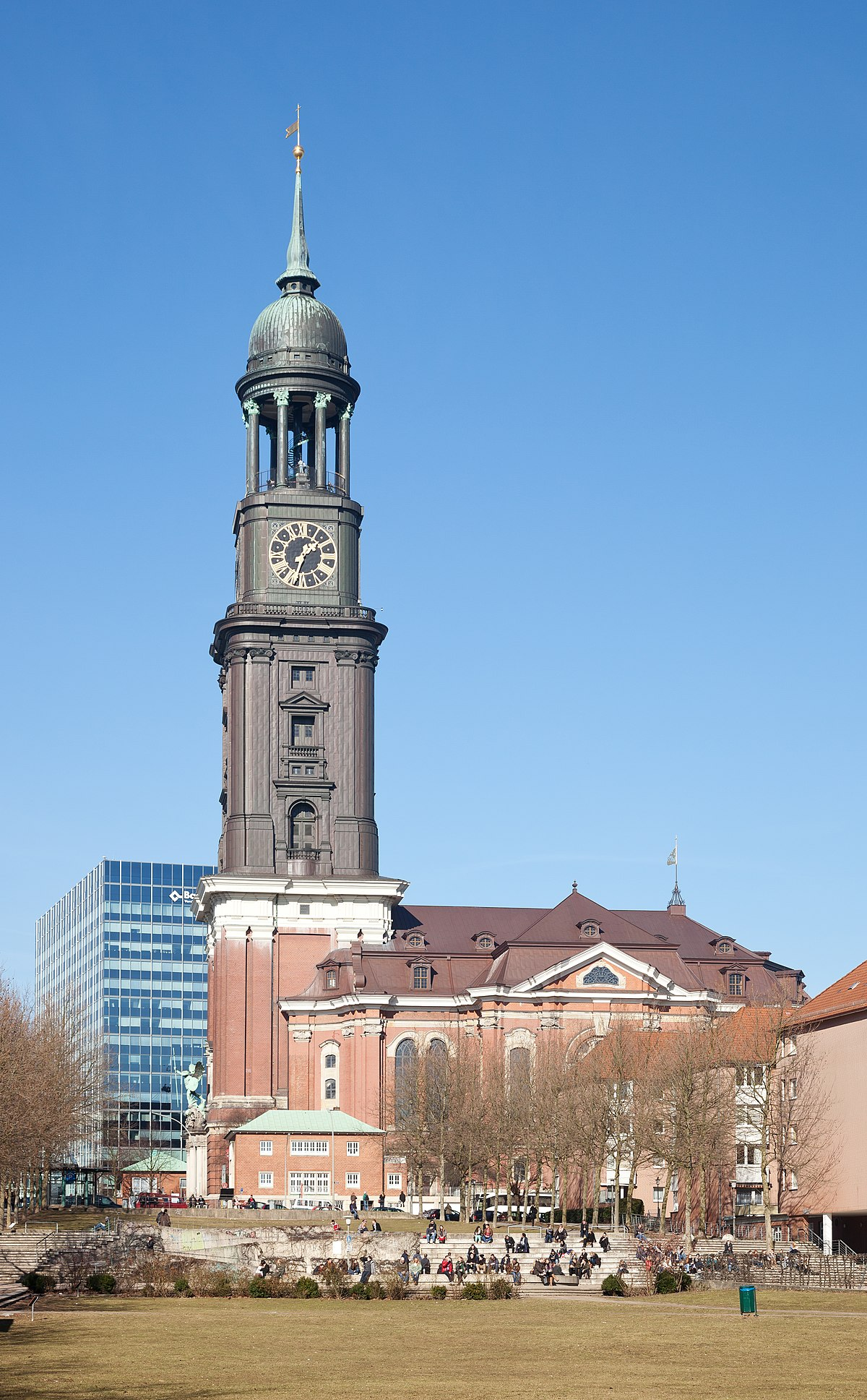 hauptkirche sankt michaelis hamburg wikipedia. Black Bedroom Furniture Sets. Home Design Ideas
