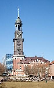 St.-Michaelis-church in Hamburg, Germany