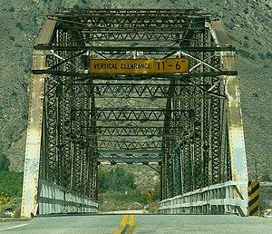 Highland, California - Santa Ana River Bridge