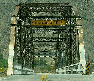 Highland, California - Santa Ana River Bridge