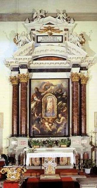 Pietro Dandini - Image: Santa maria del giglio, altare
