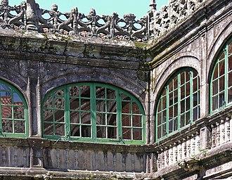 University of Santiago de Compostela - Interior of Fonseca College