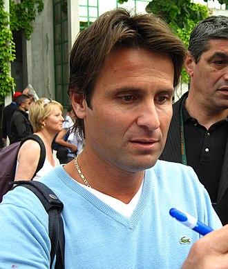 Fabrice Santoro - Image: Santoro Roland Garros 2009 1