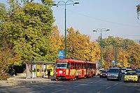 Sarajevo Tram-248 Line-3 2011-10-31.JPG