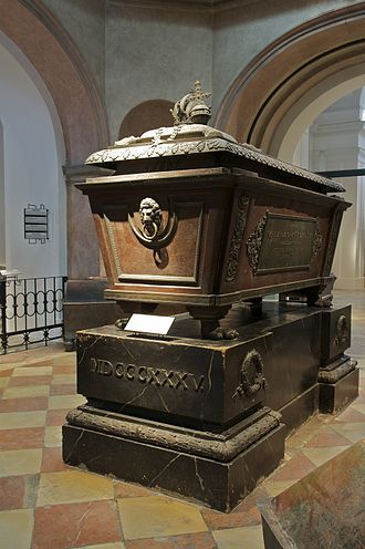 Francis II, Holy Roman Emperor - His sarcophagus in the Imperial Crypt, Vienna