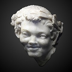 Head of a satyre