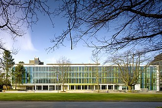 UBC Sauder School of Business - Image: Sauder School of Business March 2012