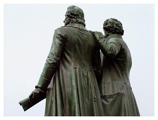 Schiller & Goethe - panoramio