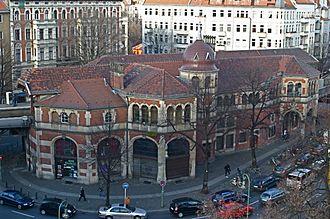 Schlesisches Tor (Berlin U-Bahn) - U-Bahn station Schlesisches Tor (February 2008)