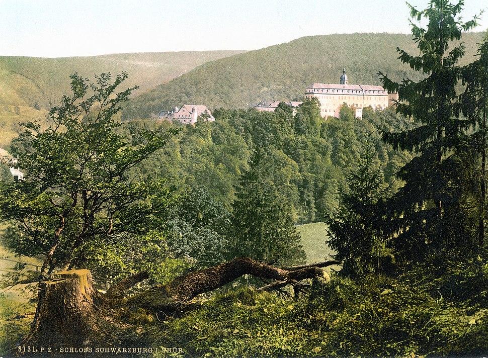 Schloss Schwarzburg 1900