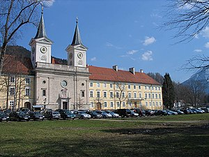 Tegernsee Abbey - The Baroque style former Tegernsee Abbey and basilica