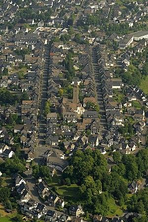 Schmallenberg - Schmallenberg old town, part of the central town