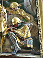 Schwabach Stadtkirche - Hochaltar Auferstehung 2 Wächter am Grab.jpg
