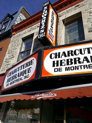 Saint Laurent Boulevard - Schwartz's Delicatessen