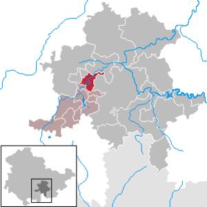 Schwarzburg (municipality) - Image: Schwarzburg in SLF