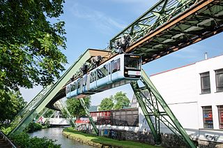Wuppertal Suspension Railway suspension railway in Wuppertal, Germany