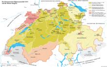 karta nemacke i svajcarske Švajcarska   Wikipedia karta nemacke i svajcarske
