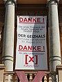 Schwerin Mecklenburgisches Staatstheater Banner Kulturschutz 2013-08-12 5.JPG