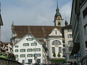 Schwyz - Roman Catholic Church of St. Martin