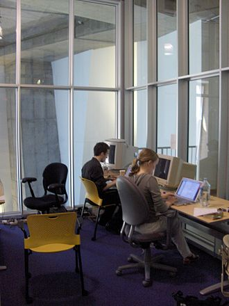Science Commons - Science Commons office in 2005, MIT Stata Center