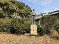 Sculpture of Aikawa Katsuroku near Heiwadai Park.jpg