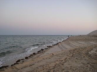 Mesaieed - Mesaieed's coastline.