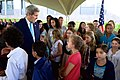 Secretary Kerry Chats With Children of Embassy Employees at U.S. Embassy Nairobi (16746636663).jpg