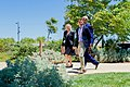 Secretary Kerry Walks With Facebook Employees Tierney and Rice as He Views the Rooftop Garden at Facebook's New Headquarters in Menlo Park (27586710120).jpg