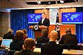 Secretary Pompeo Delivers Remarks to the Media (32411925307).jpg