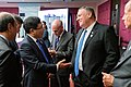 Secretary Pompeo Participates in a Pull-aside Meeting With Vietnamese Foreign Minister Pham Binh Minh (48430592731).jpg